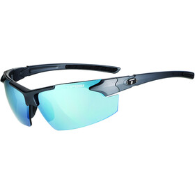 Tifosi Jet FC Glasses matte gunmetal - smoke bright blue
